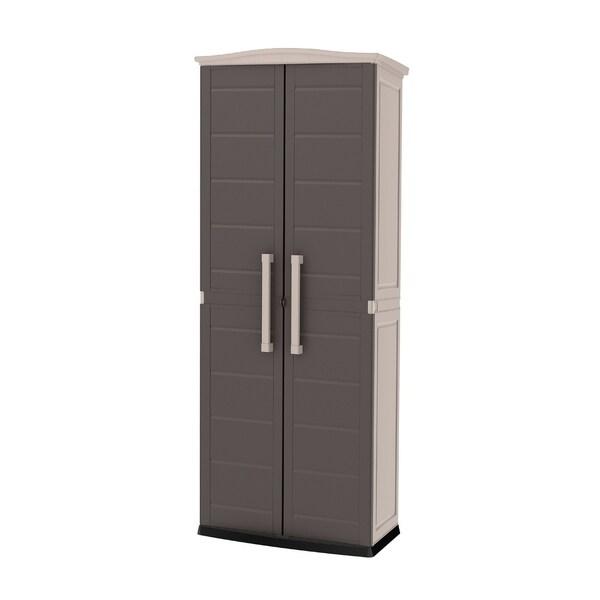 Shop Keter Boston Tall Storage Utility Cabinet Free