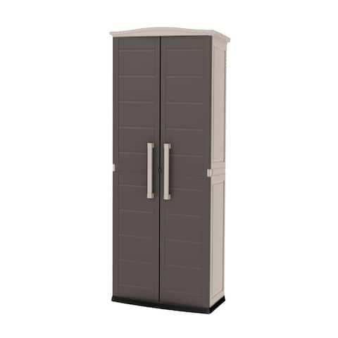 Keter Boston Tall Storage Utility Cabinet
