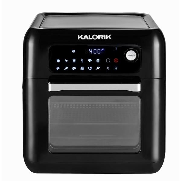 Shop Kalorik 6qt Air Fryer Oven Black Free Shipping Today Overstock 28020837