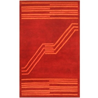 Link to Handmade Tibetan Wool Rug (India) - 5' x 8' Similar Items in Industrial Rugs
