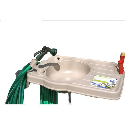 Large Outdoor Garden Sink for Monticello Greenhouses
