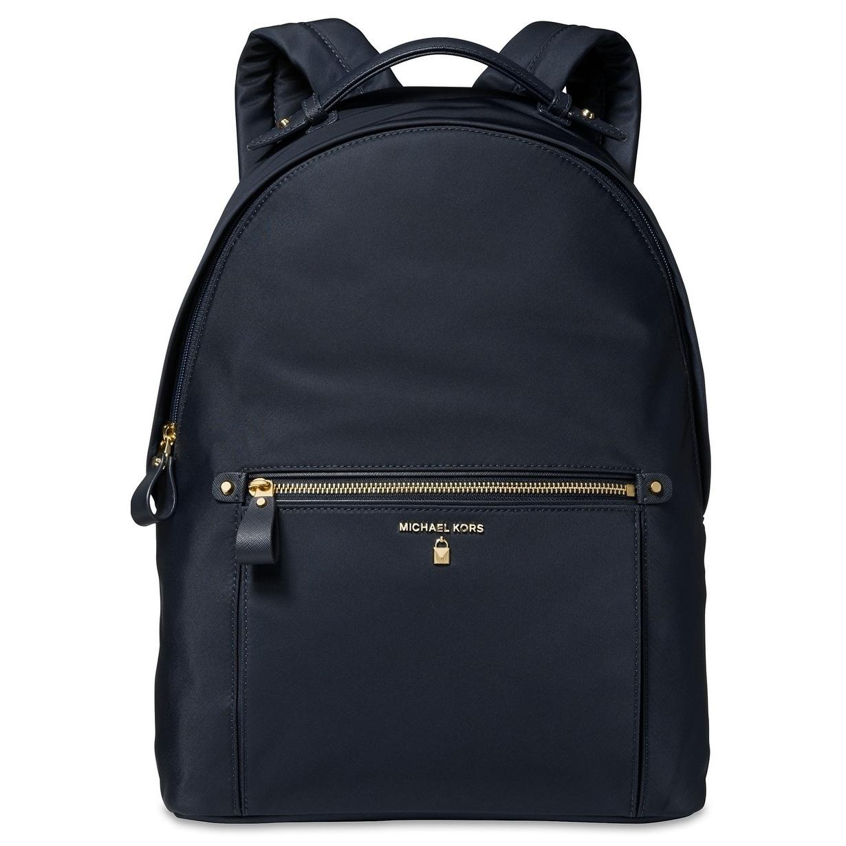 MICHAEL Michael Kors Kelsey Large Backpack AdmiralGold