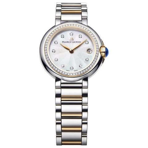Maurice Lacroix Women's FA1003-PVP23-170 'Fiaba' Two-Tone Stainless Steel Watch