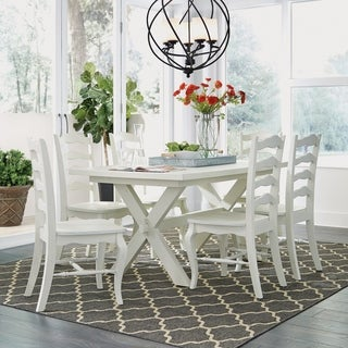 Shop Cortesi Home Alessa Camelback Dining Chair In Beige