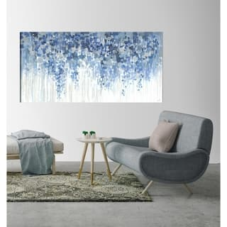 ArtMaison Canada,Floral Summer Blossom Giclee Gallery Wrapped Canvas Wall Art Décor