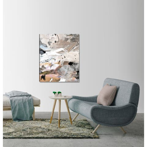 ArtMaison Canada,Abstract Earthy Marble II Giclee Gallery Wrapped Canvas Wall Art Décor