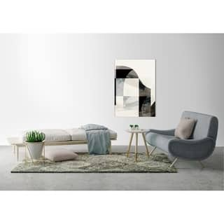 ArtMaison Canada, Structural Abstract I Giclee Gallery Wrapped Canvas Wall Art Décor