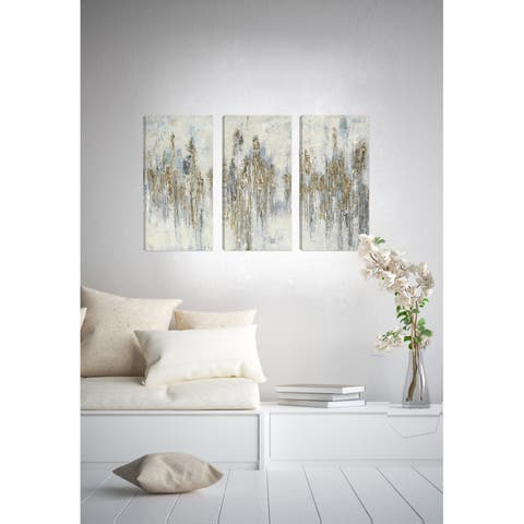 Abstract Birch View II Giclee Gallery Wrapped Canvas Wall Art by Irina K.