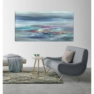 ArtMaison Canada,Seascape Blue Ocean Beauty Giclee Gallery Wrapped Canvas Wall Art Décor