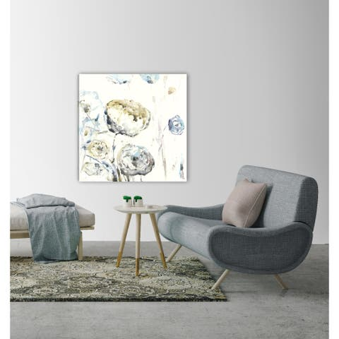 ArtMaison Canada,Summer Floral I Giclee Gallery Wrapped Canvas Wall Art Décor by Irina K.