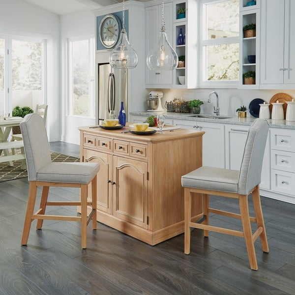 Kitchen Islands With Stools: Shop Cambridge Kitchen Island With 2 Stools