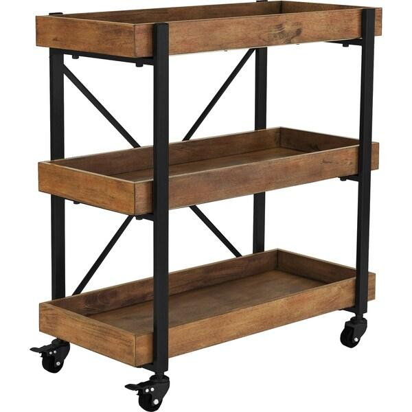 Carbon Loft Weldon Bar Cart. Opens flyout.