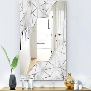 Designart 'Capital Gold Sleek 16' Glam Mirror - Modern Vanity Mirror