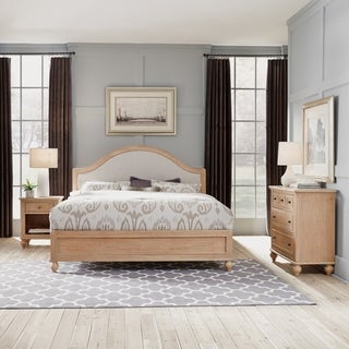 Cambridge King Bed, Chest, & Night Stand