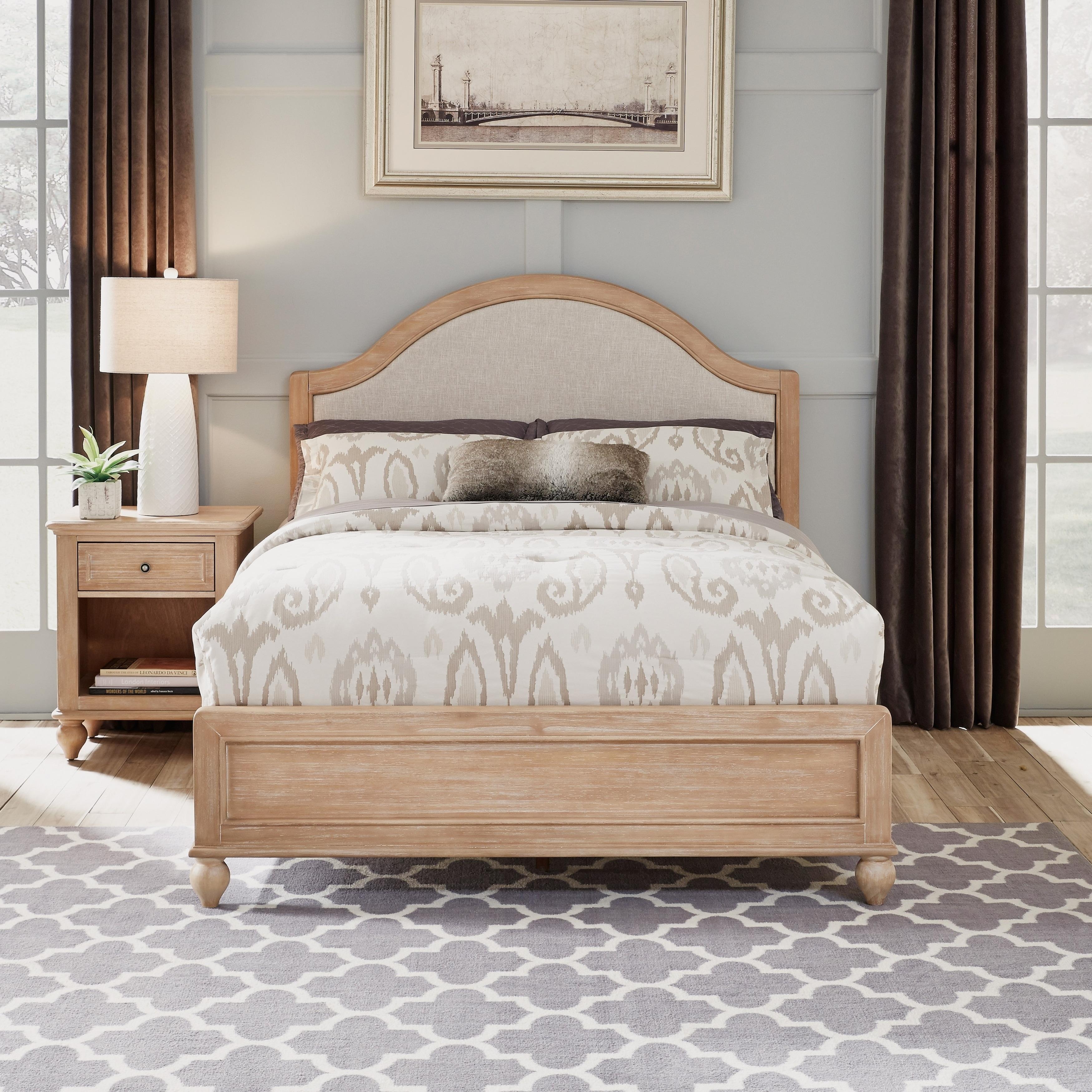 Cambridge Queen Bed & Night Stand
