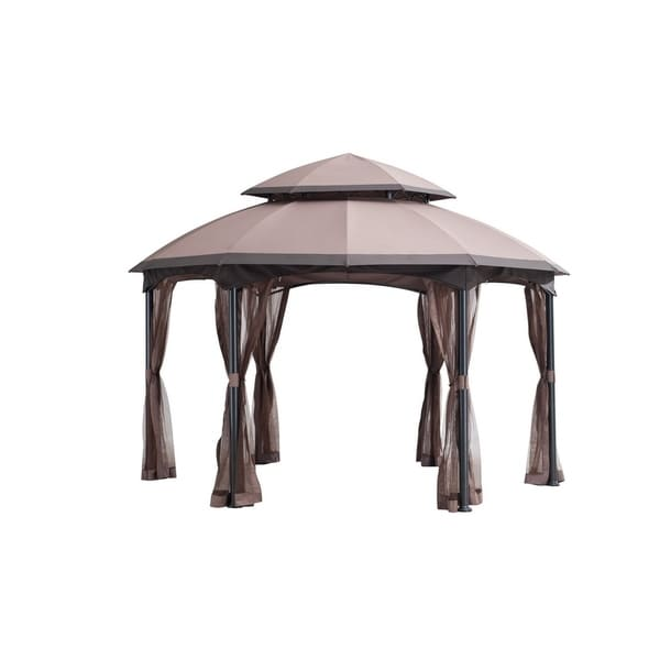 Sunjoy Replacement Canopy set for L-GZ793PST-E Heritage Gazebo (As Is Item)