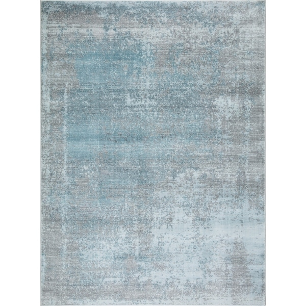 "Mod-Arte Mirage Collection Abstract Design Soft & Plush Area Rug - 5'2""X7'2"""