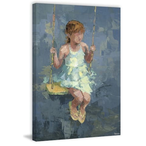 Taylor & Olive Handmade Lovely Swing Print on Wrapped Canvas