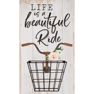 Life Is A Beautiful Ride Functional Décor