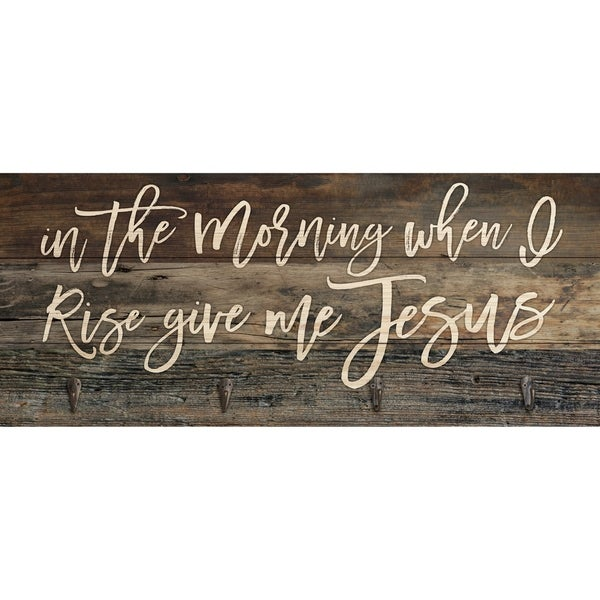 In The Morning When I Rise Functional Décor