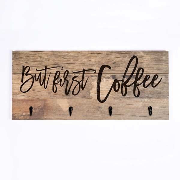 But First Coffee Functional Decor