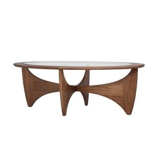 Carson Carrington Hogalund Walnut Coffee Table