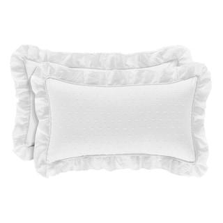 Five Queens Court Evelina Boudoir Decorative Throw Pillow
