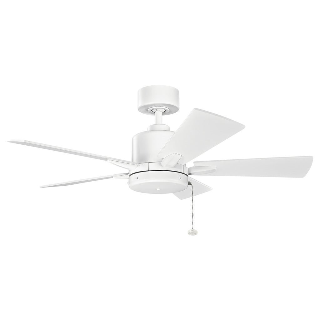 Kichler Lighting Bowen Collection 42-inch Matte White Ceiling Fan (As Is Item)