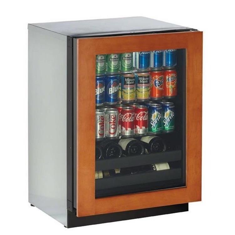 24 3000 Series Convection Cool Echelon Beverage Center Overlay RHH
