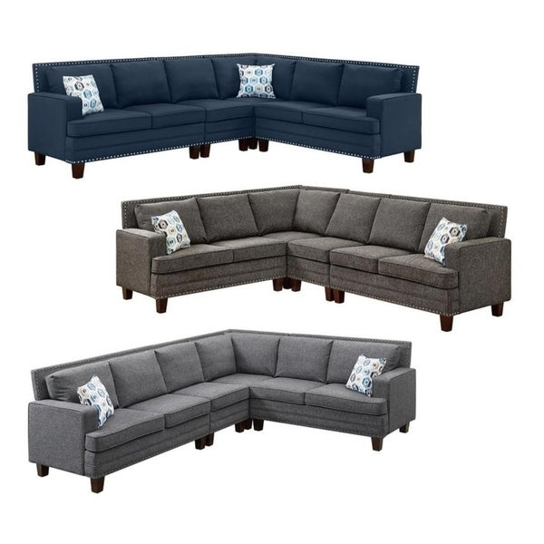 Shop LILOLA Richmond Reversible Sectional Sofa