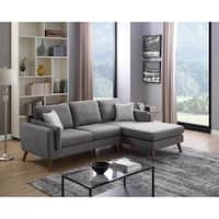 LILOLA Founders Midcentury Modern Sectional Sofa