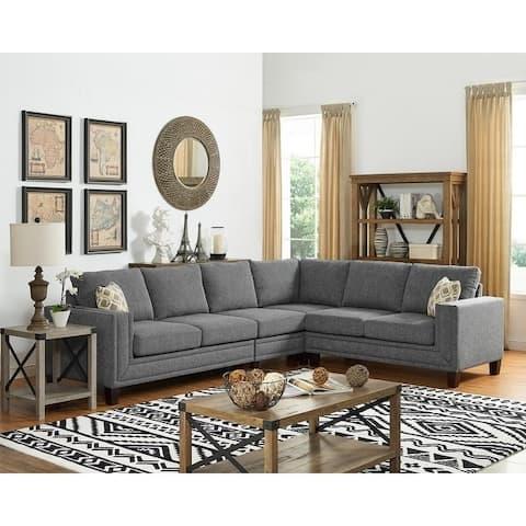 Copper Grove Savigny Reversible Sectional Sofa