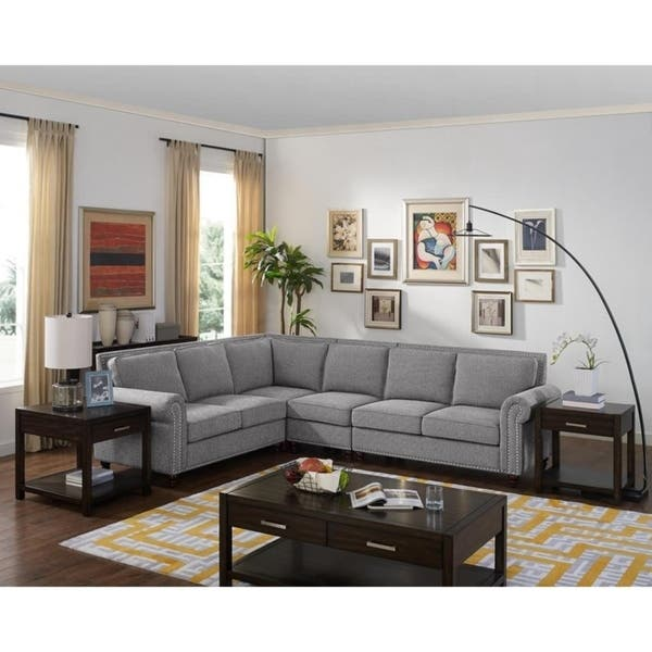Shop Copper Grove Saintleu Reversible Sectional Sofa - Free ...