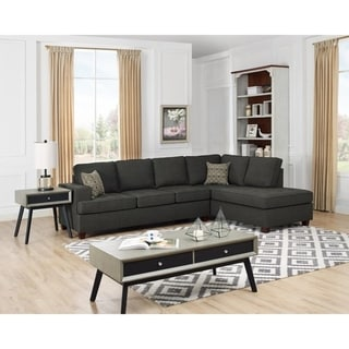 Copper Grove Franconville Fabric Sleeper Sectional Sofa