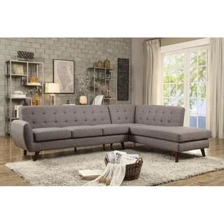 LILOLA Belterra Dorris Fabric Sectional Sofa