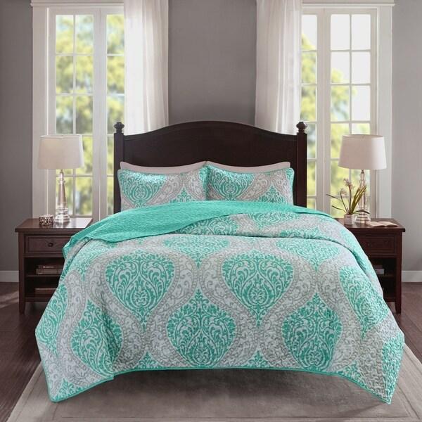 Comfort Spaces Bianca Mini Quilt Set 3-Color Option