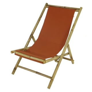 Havenside Home Sakami Folding Bamboo Relax Sling Chair