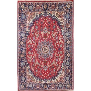"""Gracewood Hollow Mushi Hand-knotted Oriental Persian Wool Area Rug - 10'10"""" x 7'7"""""""