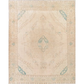 """Gracewood Hollow Gurnah Hand-knotted Wool Distressed Area Rug - 12'10"""" x 9'8"""""""