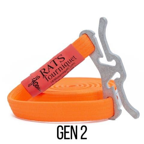 RATS Rapid Application Tourniquet System - Gen 2 - Orange