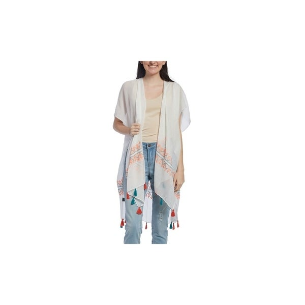 Geometric Top Viscose Embroidered Casual Fashion Tops Tunic for Women