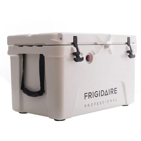 Frigidaire Professional 45-Qt. Roto-Molded Hard Cooler, Polar White