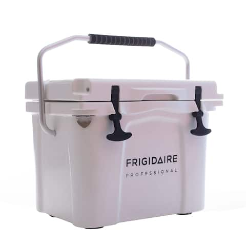 Frigidaire Professional 22-Qt. Roto-Molded Hard Cooler, Polar White
