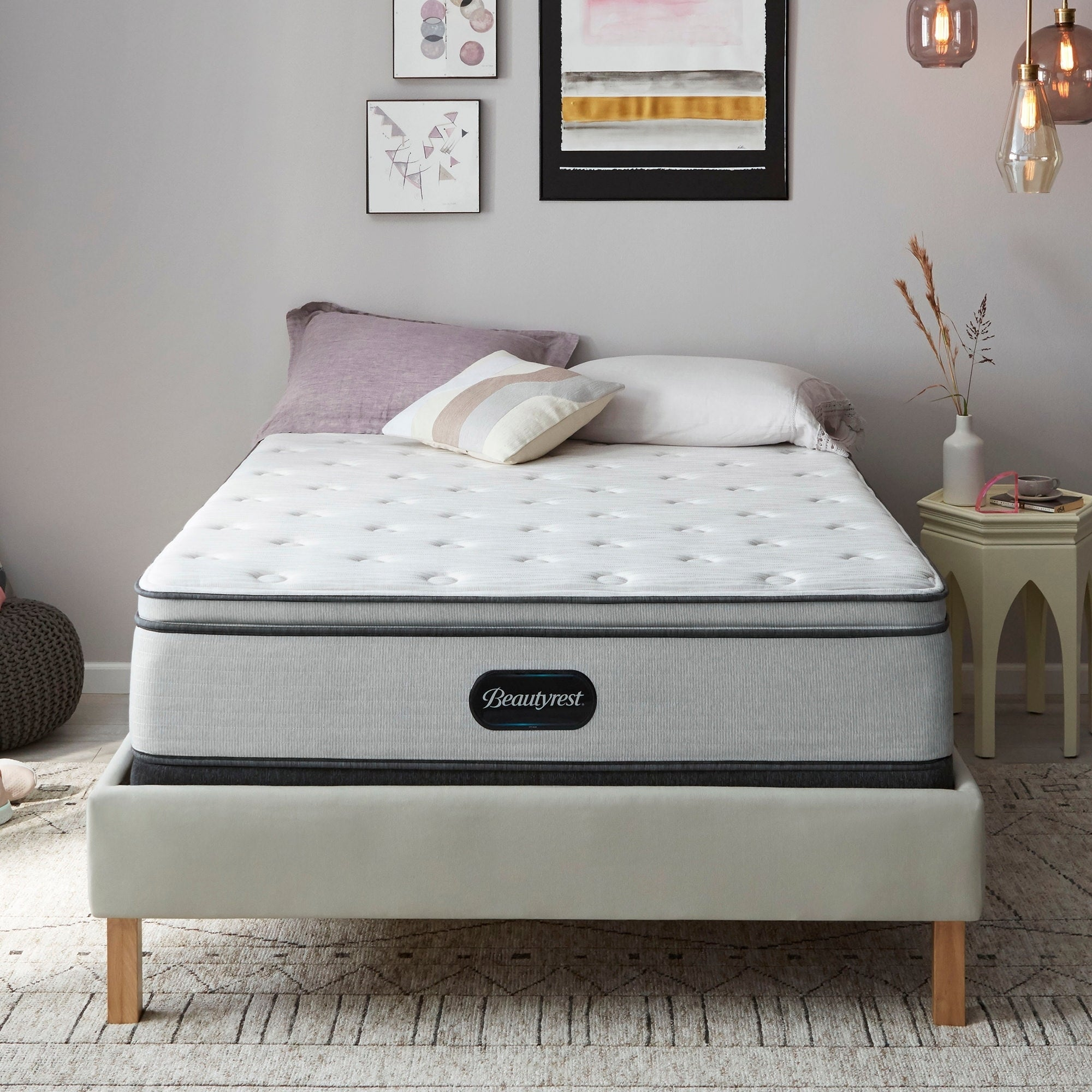 Beautyrest  BR800 13-inch Plush Pillow Top Mattress (Queen)