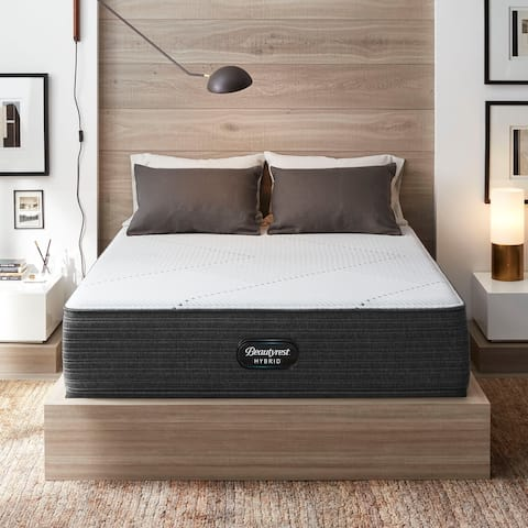 Beautyrest Hybrid BRX1000-IP 13-inch Extra Firm Hybrid Mattress Set