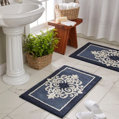 Floral Bath Mats Rugs Find Great Bath Linens Deals Shopping At