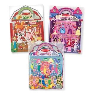 Puffy Sticker Farm, Princess & Mermaid