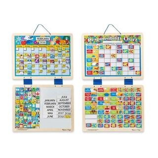 Magnetic Calendar & Responsibility Chart Bundle