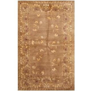 Handmade One-of-a-Kind Tibetan Wool Rug (India)
