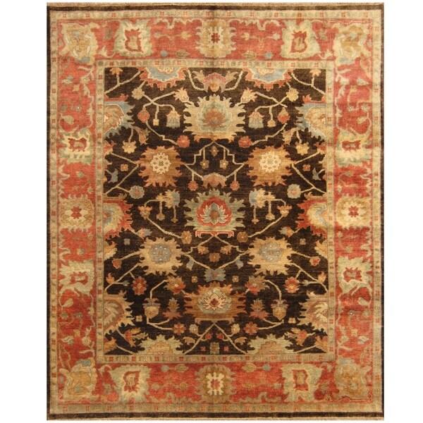 Handmade One-of-a-Kind Mahal Wool Rug (India) - 8' x 10'